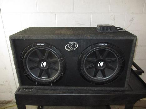 Kicker Car Speaker