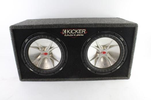 Kicker Livin Loud Car Speaker