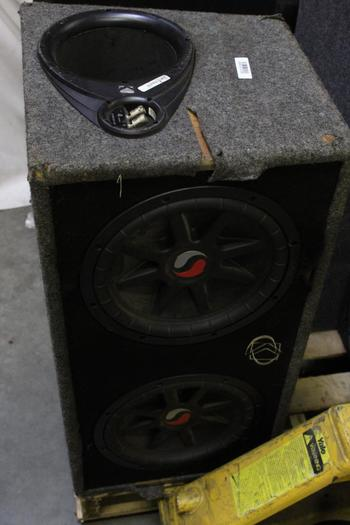Kicker SC Twin Car Speakers And Speakerbox