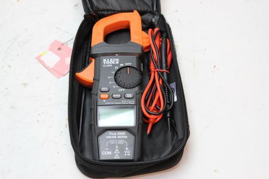 Klein Tools Ac Digital Clamp Meter