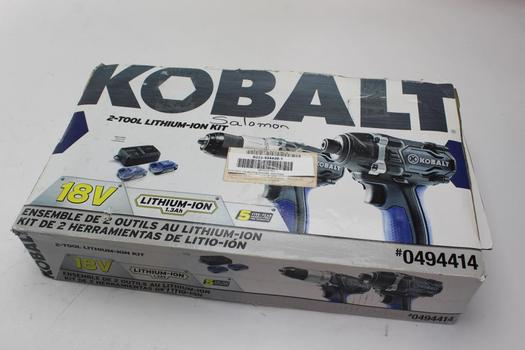 Kobalt Drill And Impact Driver