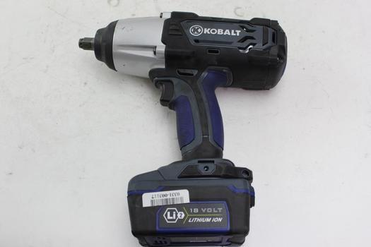 Kobalt Impact Wrench
