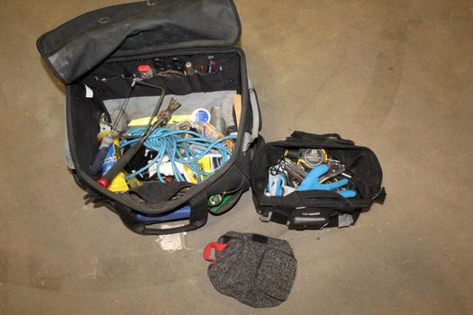 Kobalt Mobile Tool Bag With Tools
