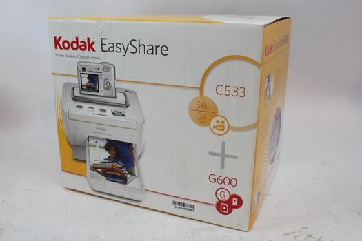 Kodak Esayshare Printer Dock And Digital Camera