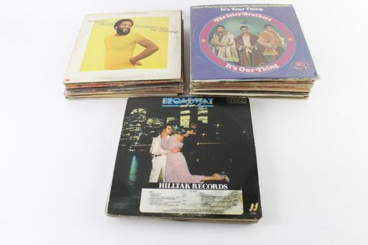 Kool & The Gang And Other Vinyl Records, 10+ Pieces
