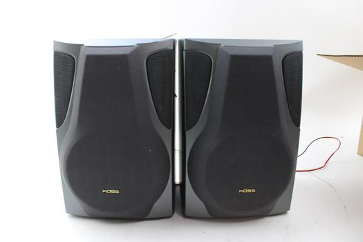 Koss HH957 2 Way Speakers: 2 Items