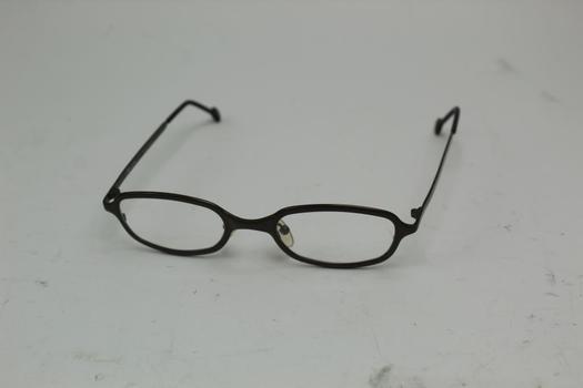L.A. Eyeworks Puffer 549 Pure Titanium Eyeglasses