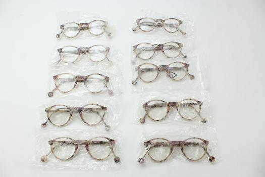 L.A. Eyeworks Sunglasses And Eyeglasses Bulk Lot, 10+ Pieces