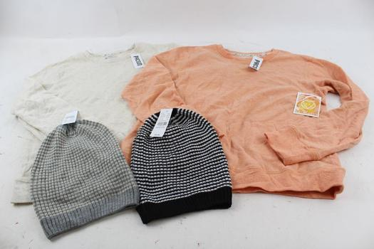 LA Hearts Sweaters, PacSun Beanies, 4 Pieces