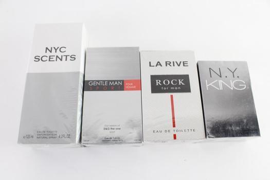 LA Rive And Other Men's Fragrances, 4 Pieces