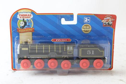 Learning Curve Thomas & Friends Wooden Railway Patchwork Hiro Engine