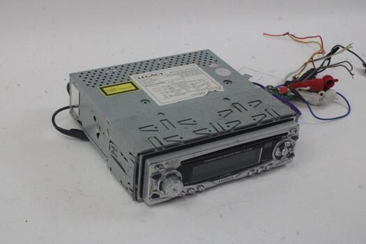 Legacy Detachable Front Panel Car Radio & CD Player
