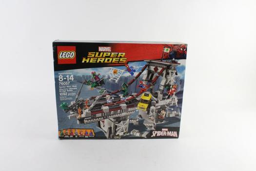 Lego Marvel Super Heroes Spider-Man Web Warriors Ultimate Bridge Battle