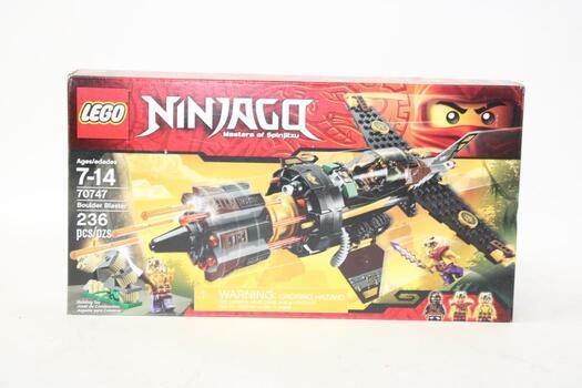 Lego - Ninjago, Masters Of Spinjitzu - Boulder Blaster 70747