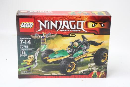 Lego - Ninjago, Masters Of Spinjitzu - Jungle Raider 70755