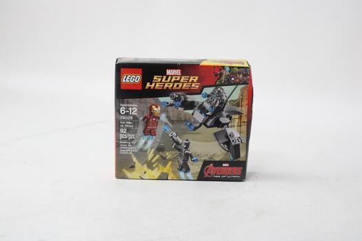 Lego - Ninjago, Masters Of Spinnjitzu - Iron Man Vs Ultron 76029