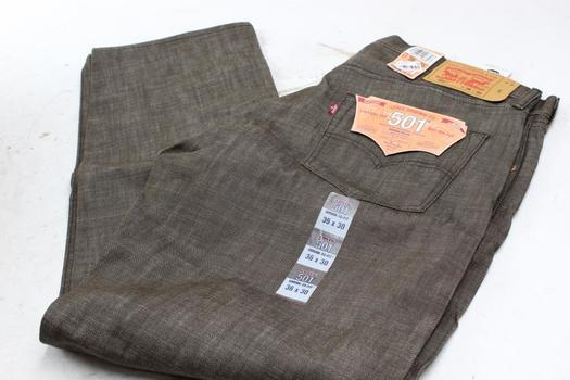 Levis 501 Pants, Size 36x30