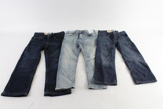 Levi's And H&M Kids Jeans, 3 Pieces