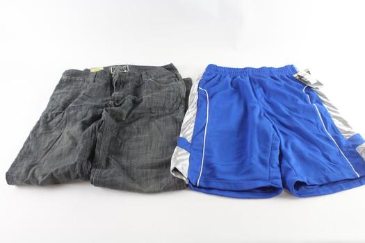 Levi's And Pro Edge Jeans And Shorts, M And 36x34, 2 Pieces