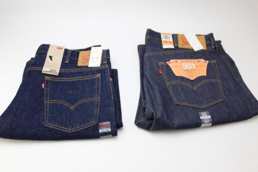 Levi's  Men's Pants; 2 Pieces; Size 40