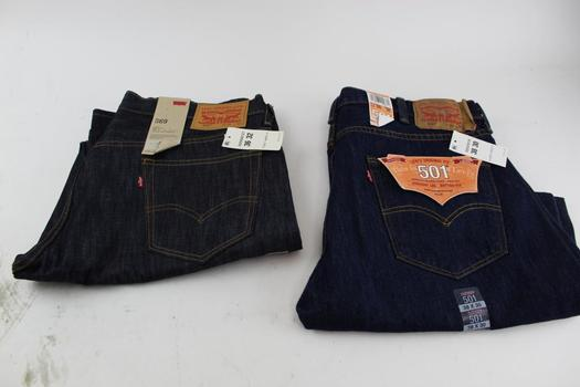 Levi's Men's Pants; 2 Piecessize 36-38