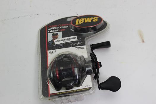 Lews Jason Christie Speed Spool Fishing Reel