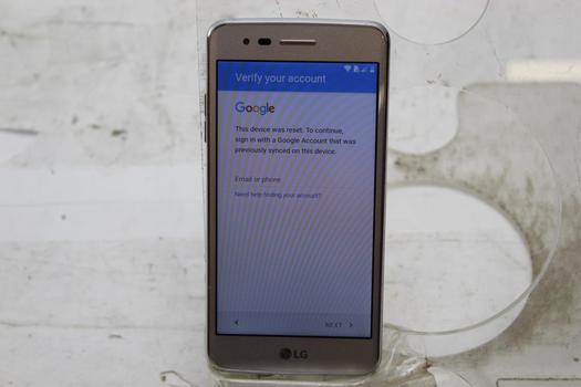 LG Aristo, 16GB, T-Mobile, Google Account Locked, Sold For Parts