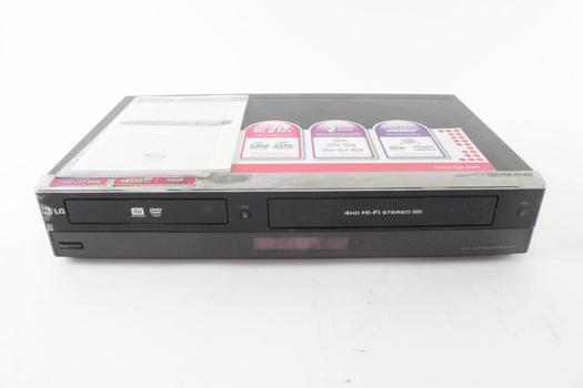 LG DVD/VCR Combo