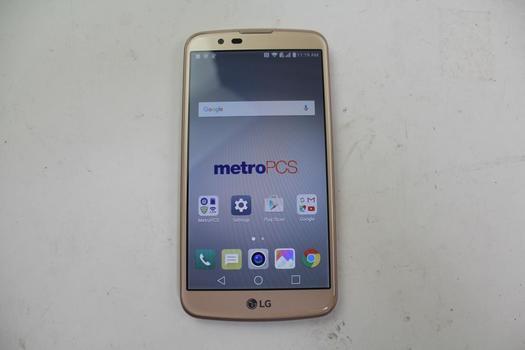 LG K10, 16GB, MetroPCS