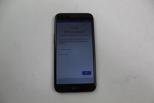 LG K20 Plus, 32GB, T-Mobile, Google Account Locked, Sold For Parts