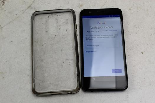 LG K30, 32GB, T-Mobile, Google Account Locked, Sold For Parts