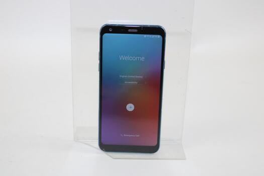 LG Q7+, 64GB, Metro By T-Mobile, Google Account Locked, Sold For Parts