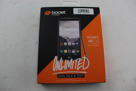 LG Stylo 2 Boost Mobile Phone