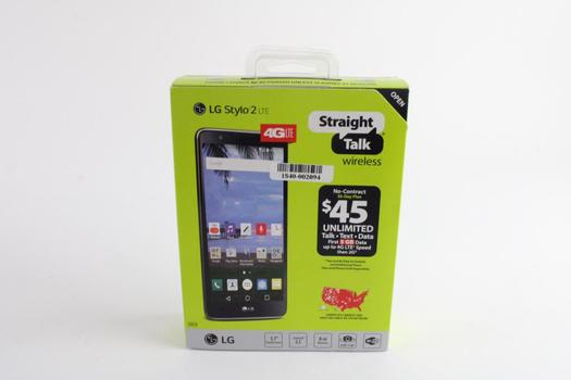 LG Stylo 2 LTE From Straight Talk Wireless No Contract
