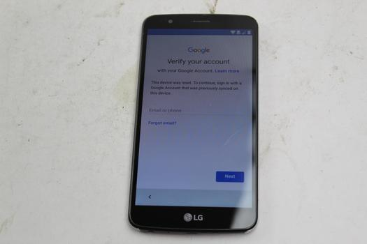 LG Stylo 3, 16GB, Boost Mobile, Google Account Locked, Sold For Parts