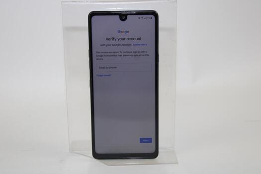 LG Stylo 6, 64GB, Metro By T-Mobile, Google Account Locked, Sold For Parts