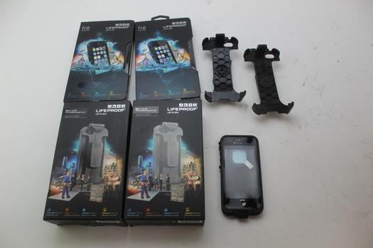 Lifeproof Iphone 5/5s Protective Cases & Belt Clips; 7 Pieces
