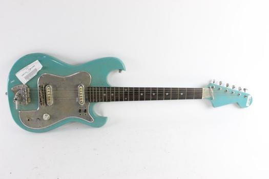 Light Blue Electric Guitar