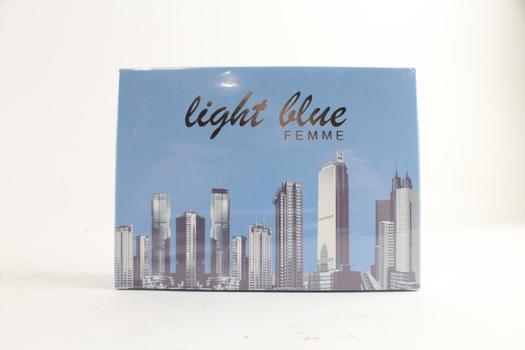 Light Blue Homme Men's Fragrance, 3.4 Fluid Ounces