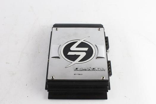 Lightning Audio Amplifier