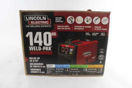 Lincoln Electric 140 HD Weld-Pak Mig/Flux-Cored Wire Feed