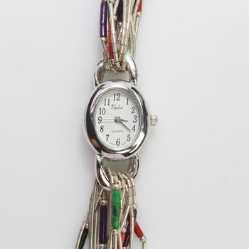 Liquid Sterling Silver Vivani Watch