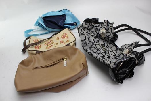 Liz Claiborne, Forever 21+ More Bags 4 Pieces