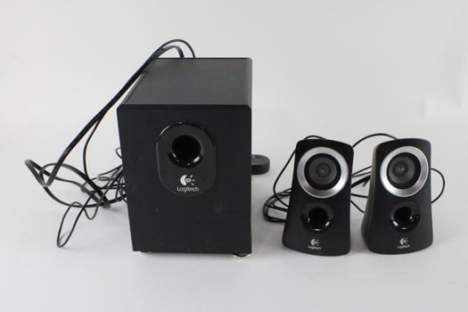 Logitech Stereo Speakers And  Subwoofer System