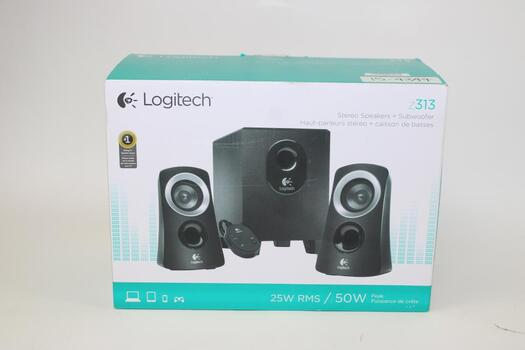 Logitech Stereo Speakers And Subwoofer Z313