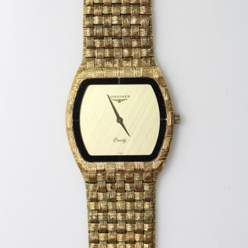 Longines Gold Plated Dress Watch