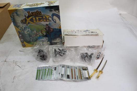 Lords Of Xidit Board Game, Uncles Puzzles And More, 10+ Pieces