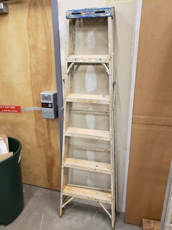 Lot of 10 Ladders - Various Sizes (Marietta, GA 30060)