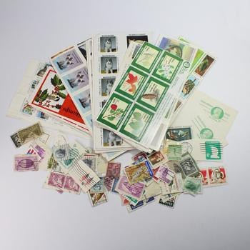 Lot Of Stamps, 400+ Pieces