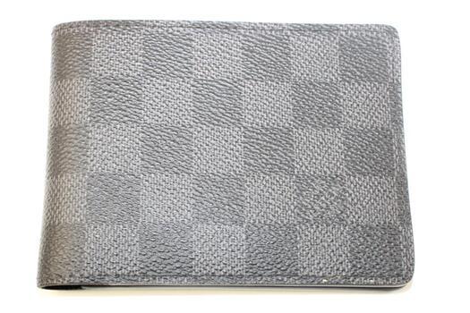 Louis Vuitton Slender Id Wallet Damier Graphite Black/Gray